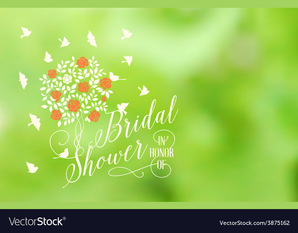 Marriage card vector image