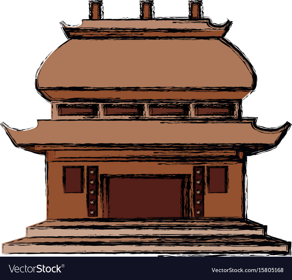 Chinese temple symbol royalty free vector image chinese temple symbol vector image biocorpaavc Gallery