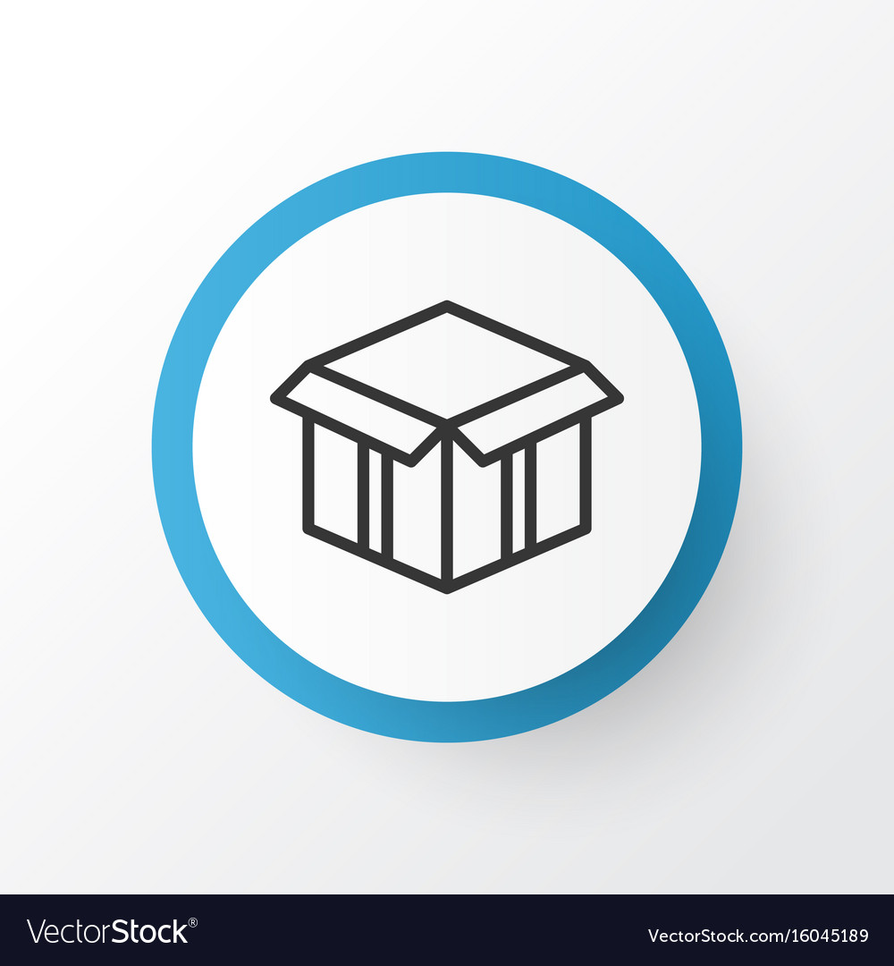 Open box icon symbol premium quality isolated vector image biocorpaavc Choice Image