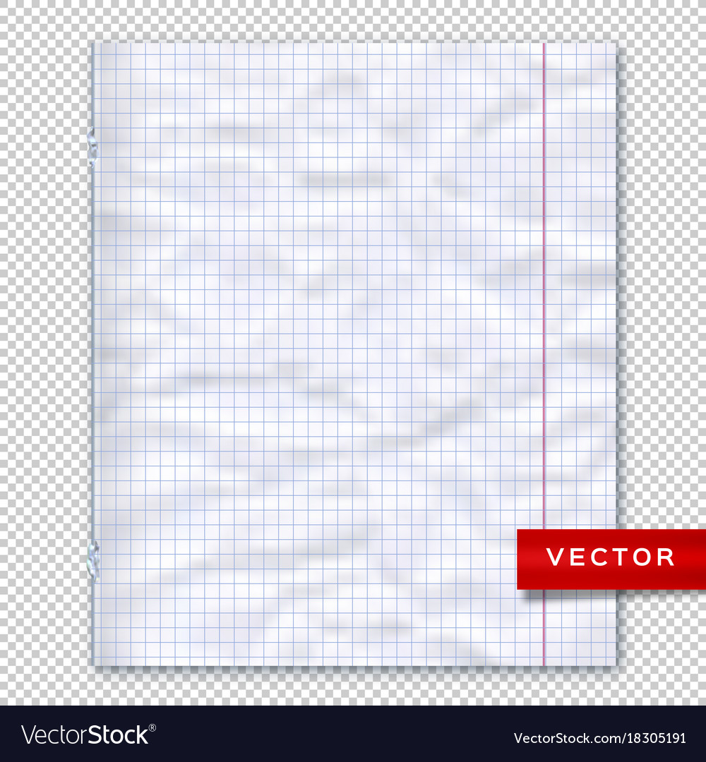 Notebook Page Lined Paper Transparent Background Vector Image  Line Paper Background