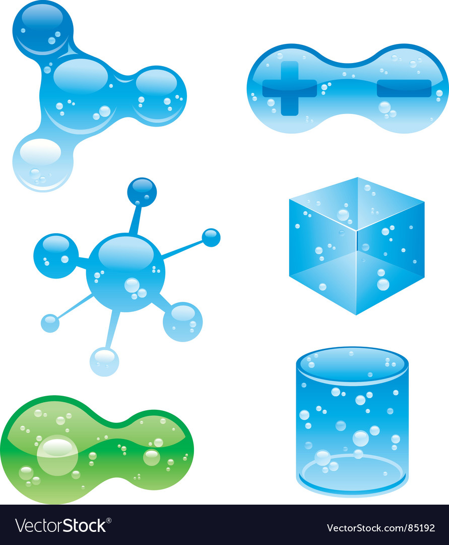 Jelly objects Vector Image