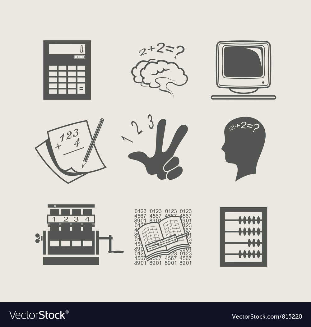 Devices for calculation set vector image