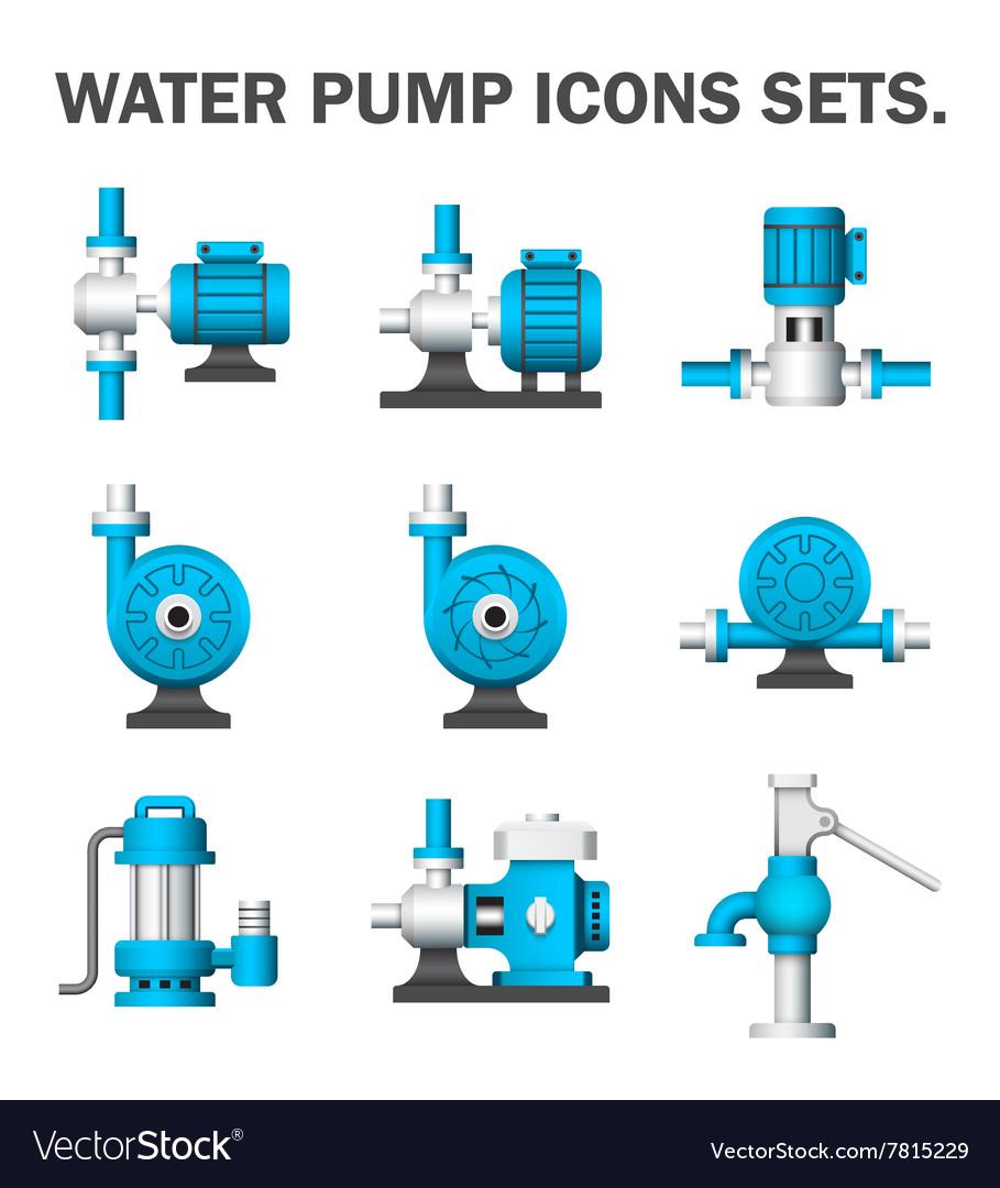 Pump It Up Prices >> Water pump icon Royalty Free Vector Image - VectorStock