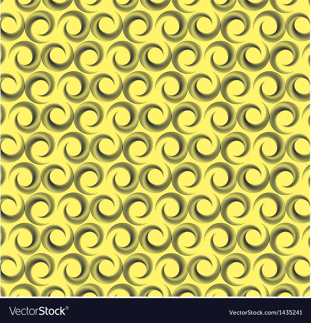 Geometric design seamless pattern in retro style vector image