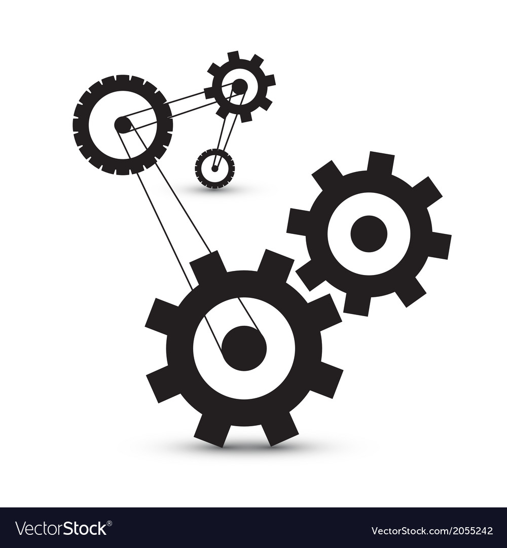 how to draw gears and cogs