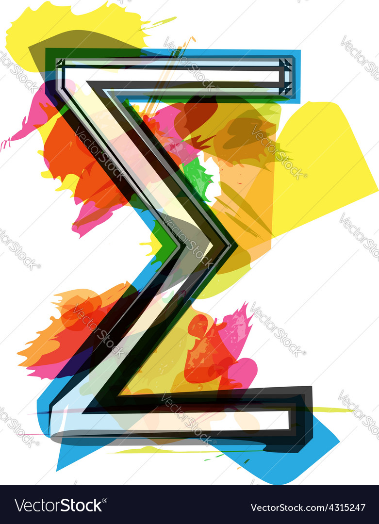 Artistic sigma sum sign royalty free vector image artistic sigma sum sign vector image biocorpaavc Choice Image