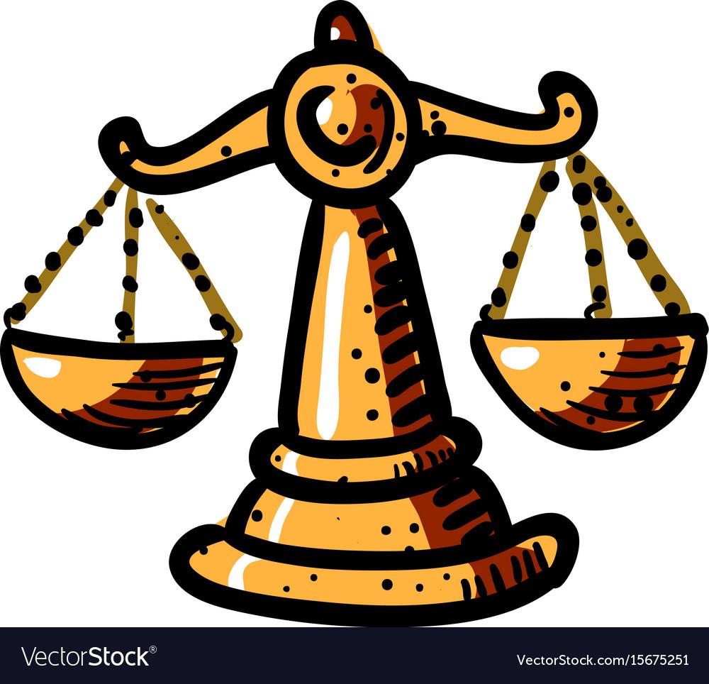 Cartoon image of balance icon scales symbol vector image cartoon image of balance icon scales symbol vector image biocorpaavc Images