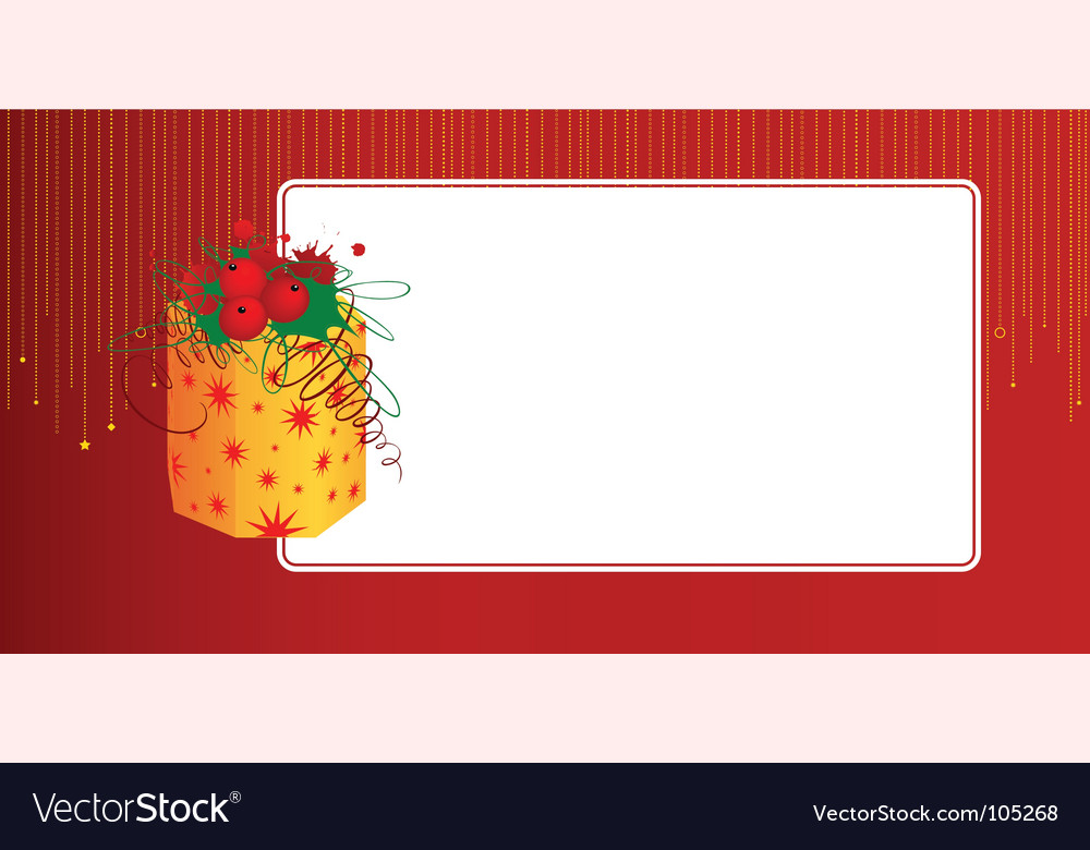 Gift Card Template Vector Image By Elf_Mo - Image #105268