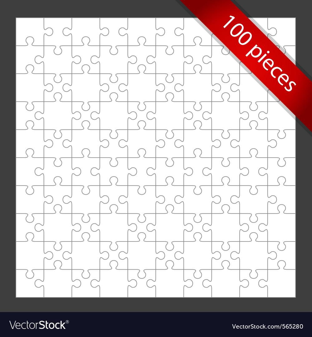 vector puzzle pieces
