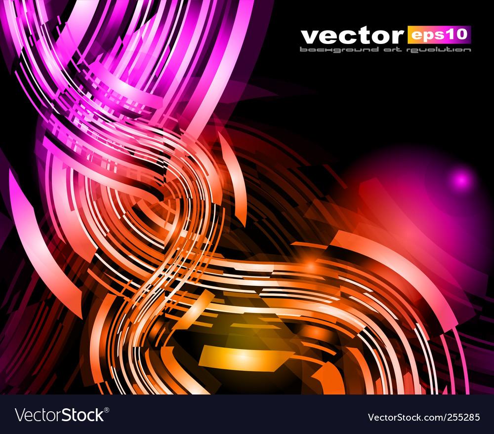 Modern streaks vector image