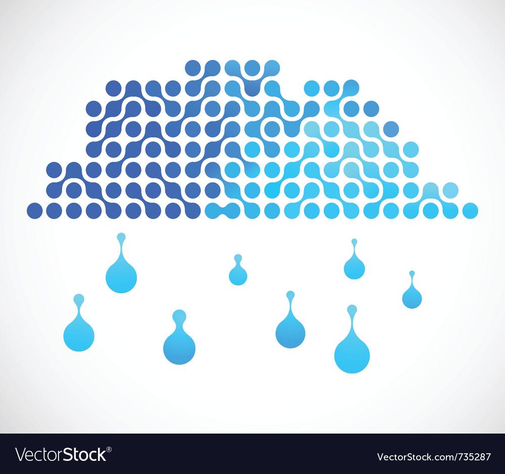 Internet cloud image vector image