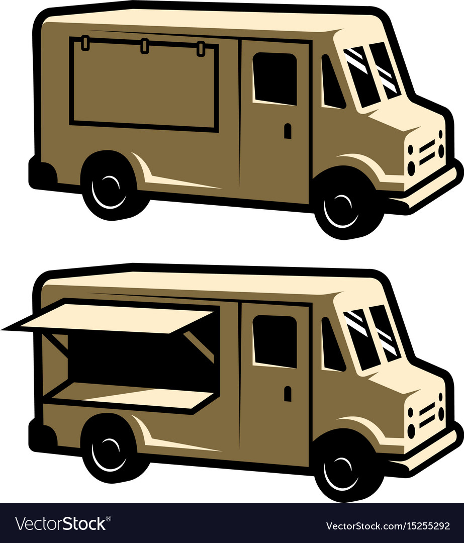 Food truck template royalty free vector image vectorstock food truck template vector image pronofoot35fo Images