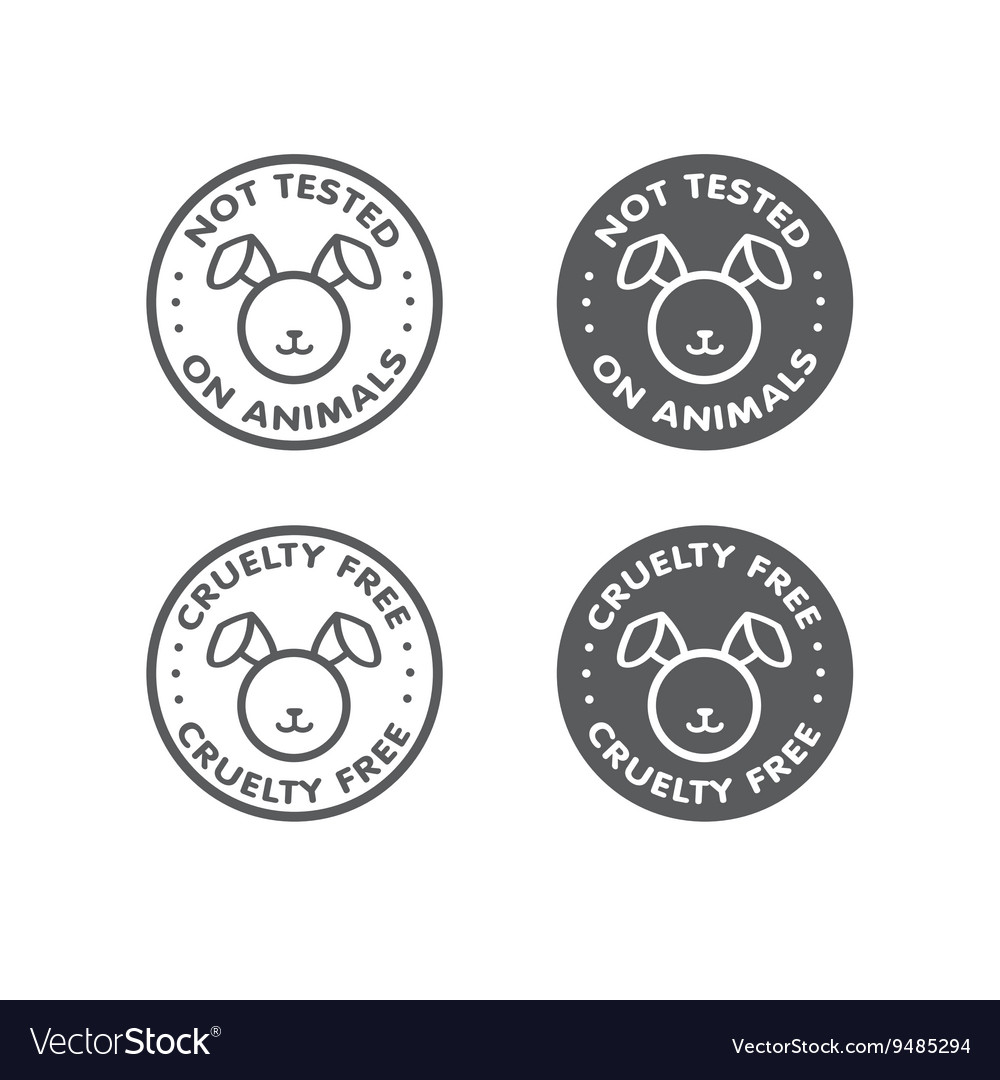 Cruelty free not tested on animal sign icon symbol cruelty free not tested on animal sign icon symbol vector image biocorpaavc Gallery
