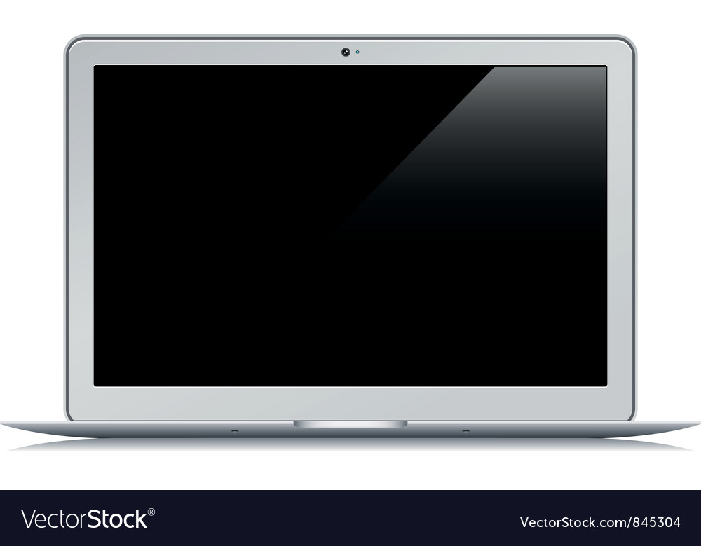 Netbook Air vector image