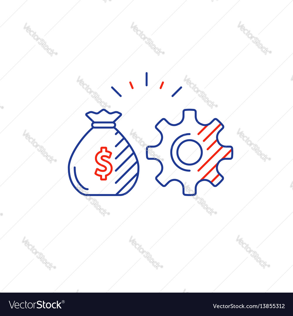 Business development innovation technology vector image