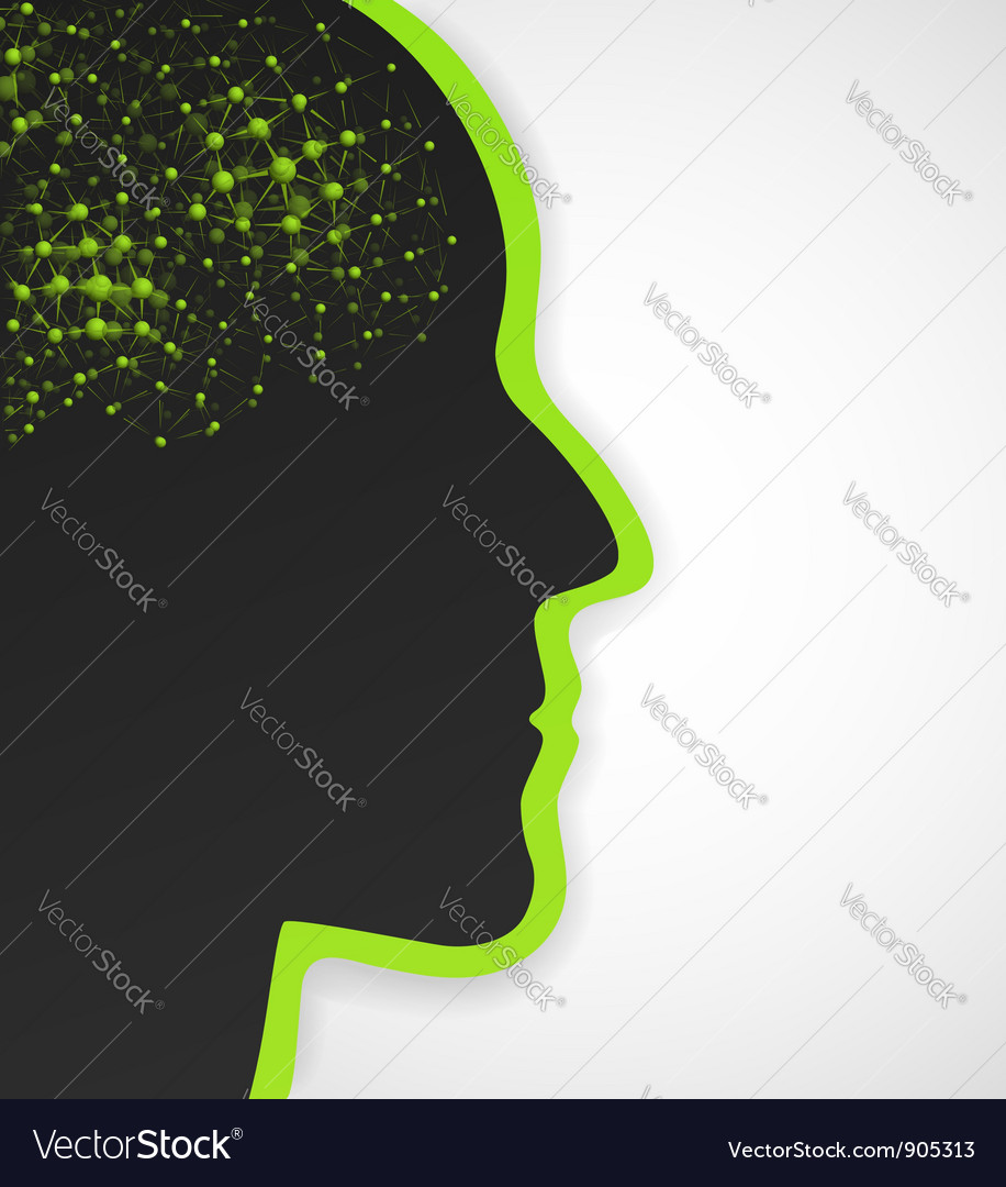 Conceptual background vector image