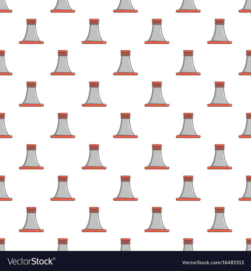 Cooling smoke tower pattern seamless vector image