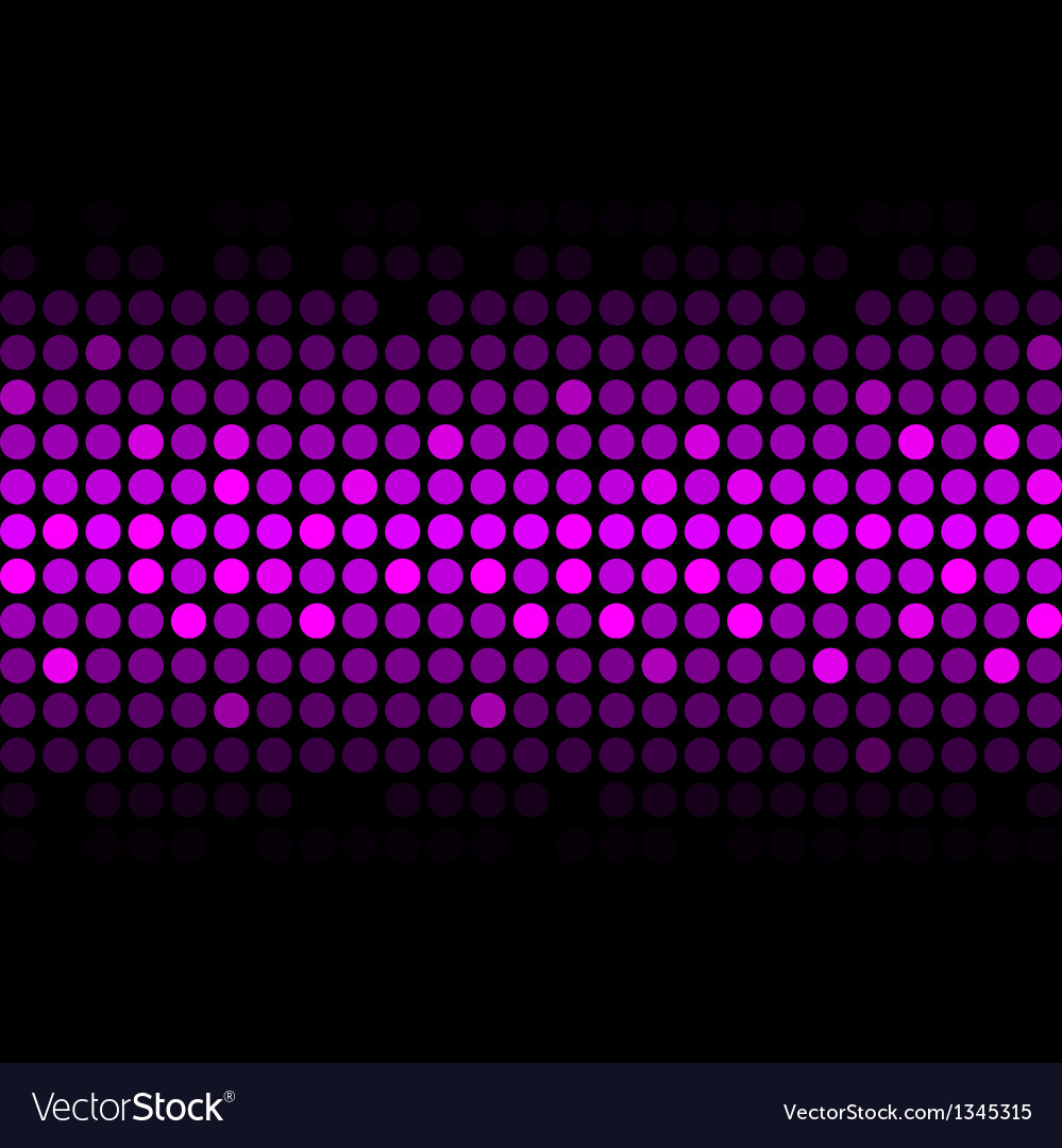 Abstract purple lights vector image