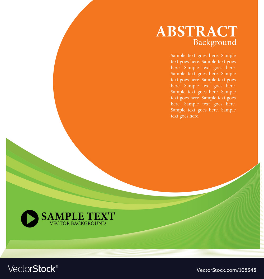 Simple composition vector image