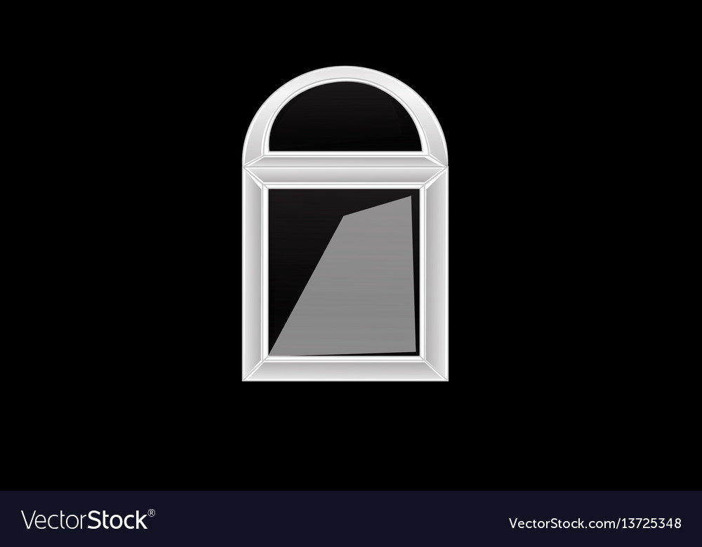 Windows plastic vector image