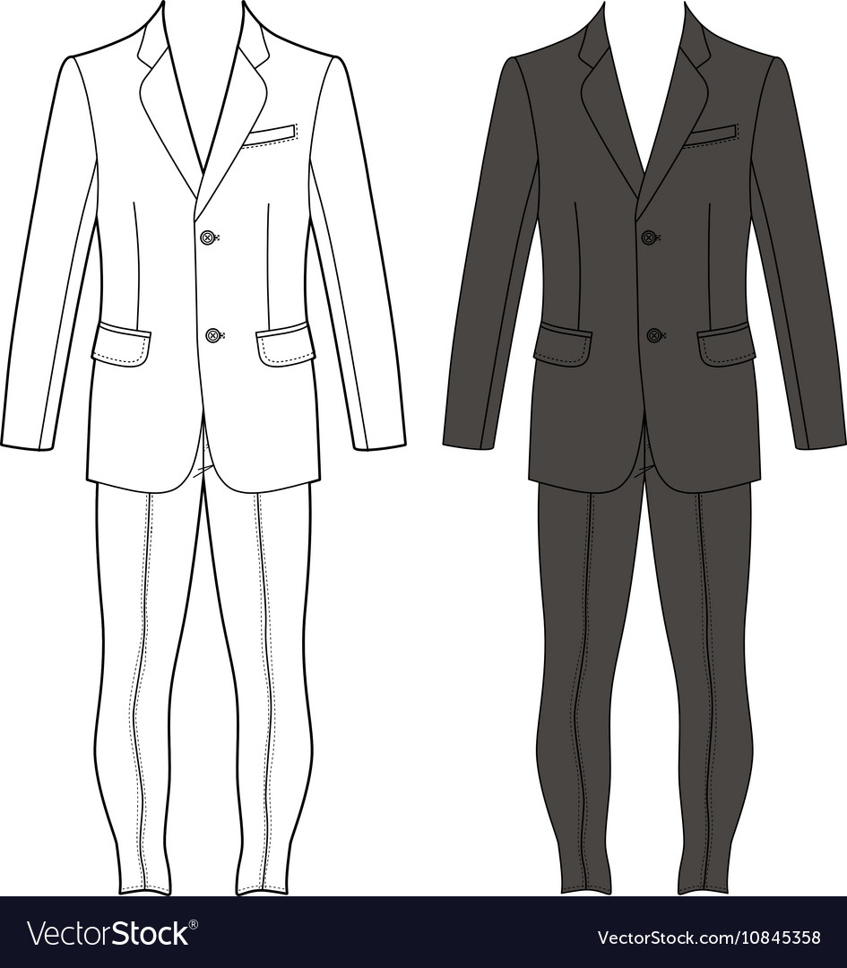 Suit Template Png Isla Nuevodiario Co
