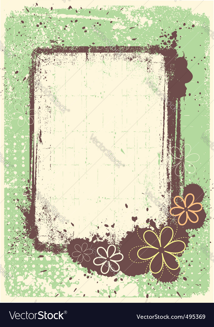Grunge decoration vector image