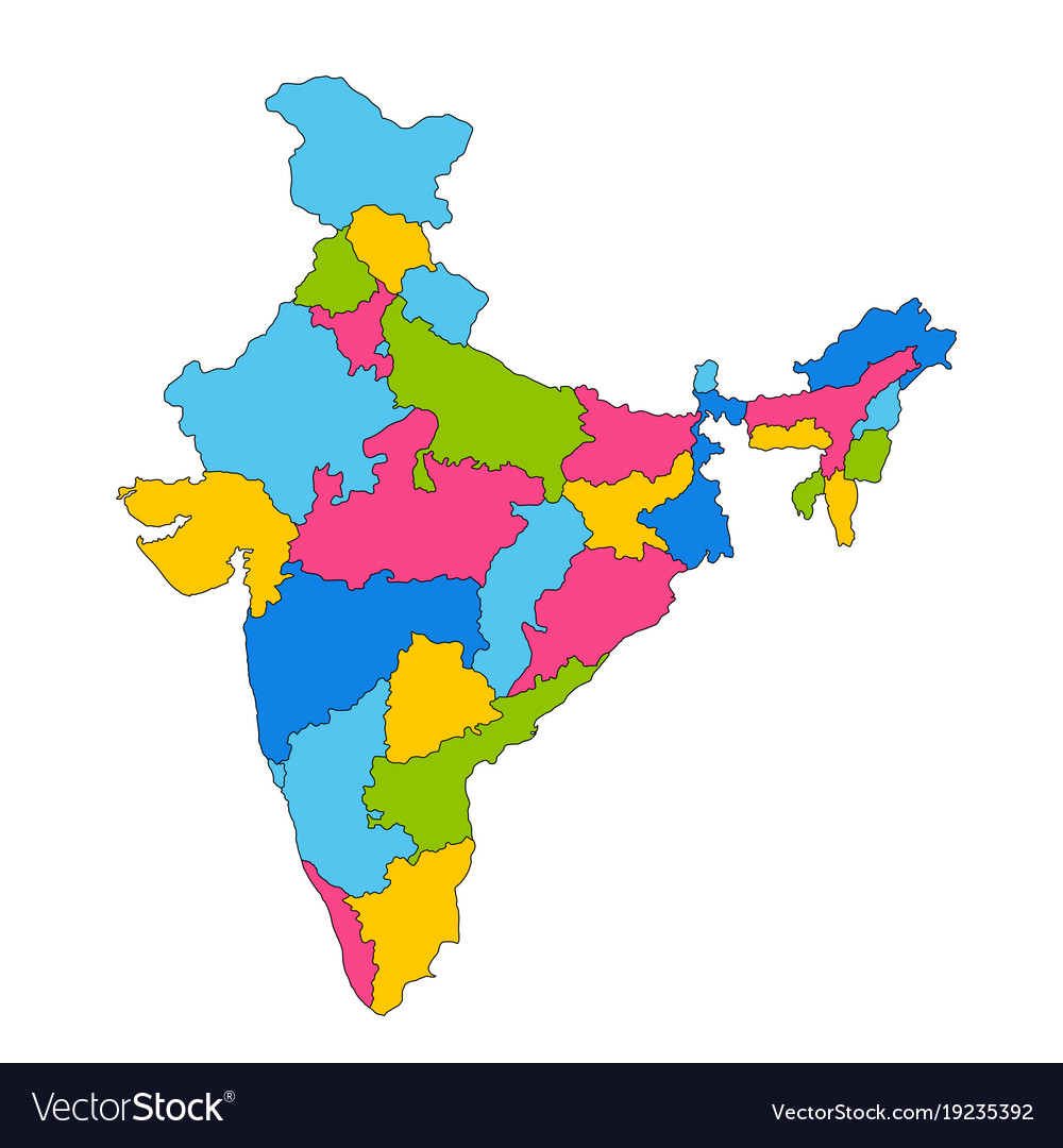 Asia Sea Map%0A Detailed Map Of India Asia With All States And Vector Image Detailed Map Of  India Asia With All States And Vector          Detailed Map Of India Asia  With