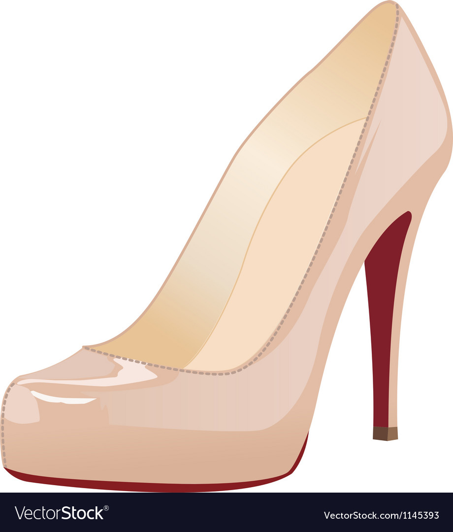 A shoe vector image