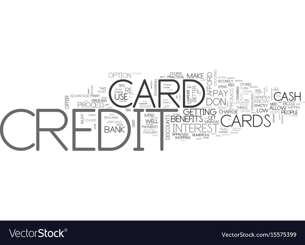 Be your own boss and don t let your bank credit vector image