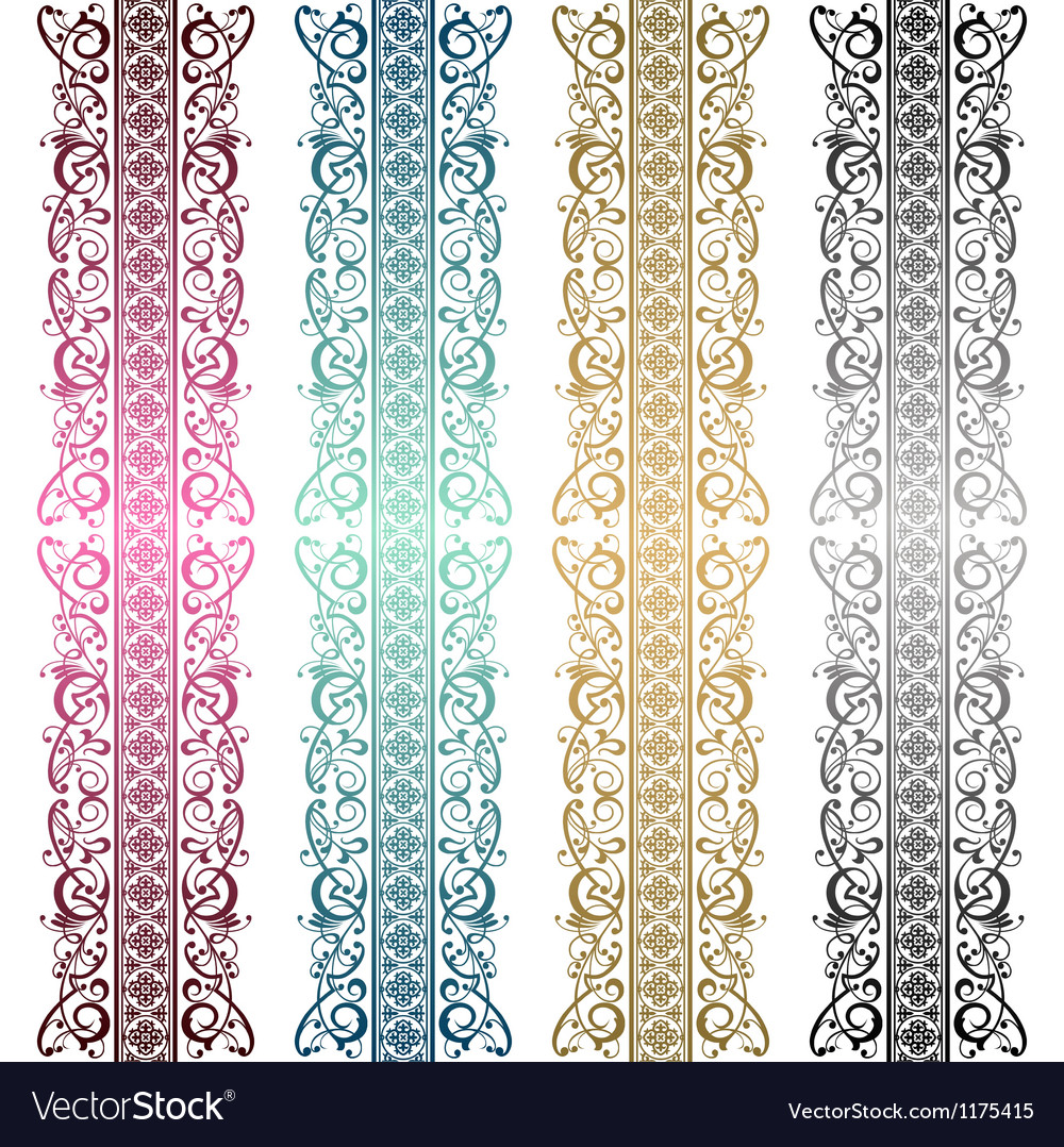 Royal ornament vector image