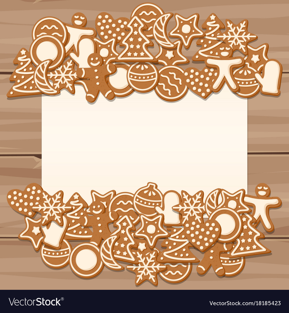 Blank sheet for christmas and new year greetings vector image kristyandbryce Images