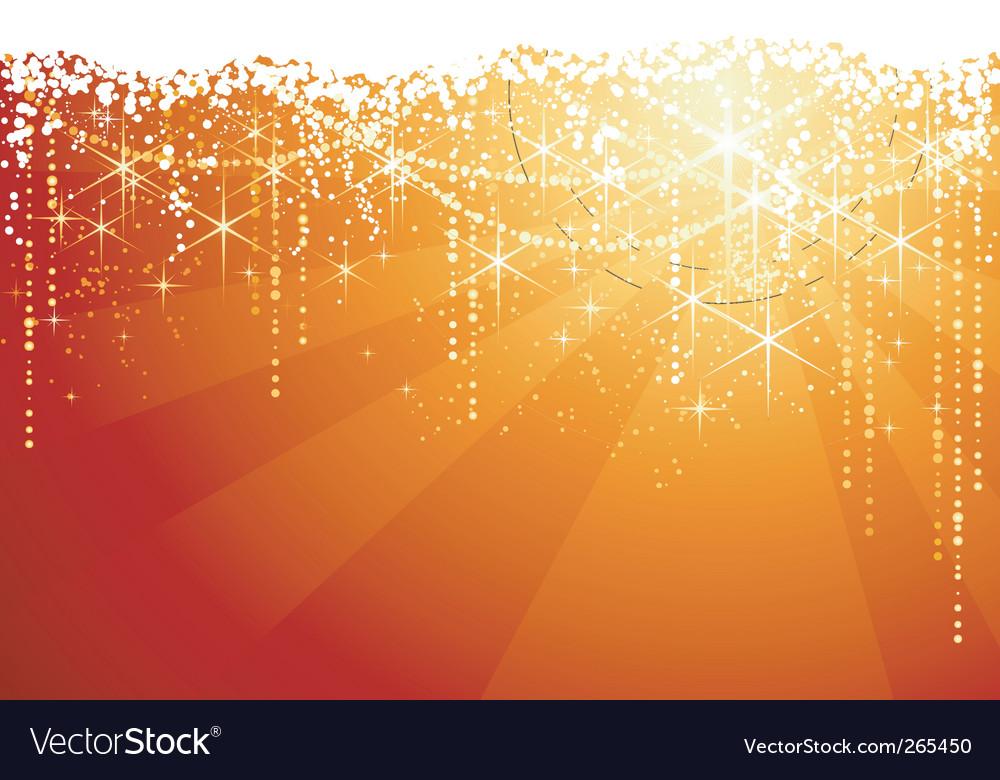 Sparkle background vector image