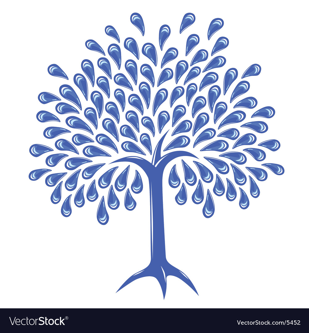 Raintree vector image