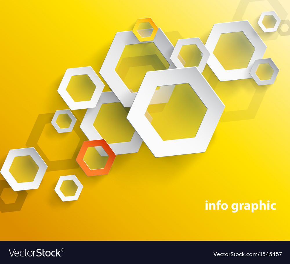 Abstract orange background with place for your Vector Image