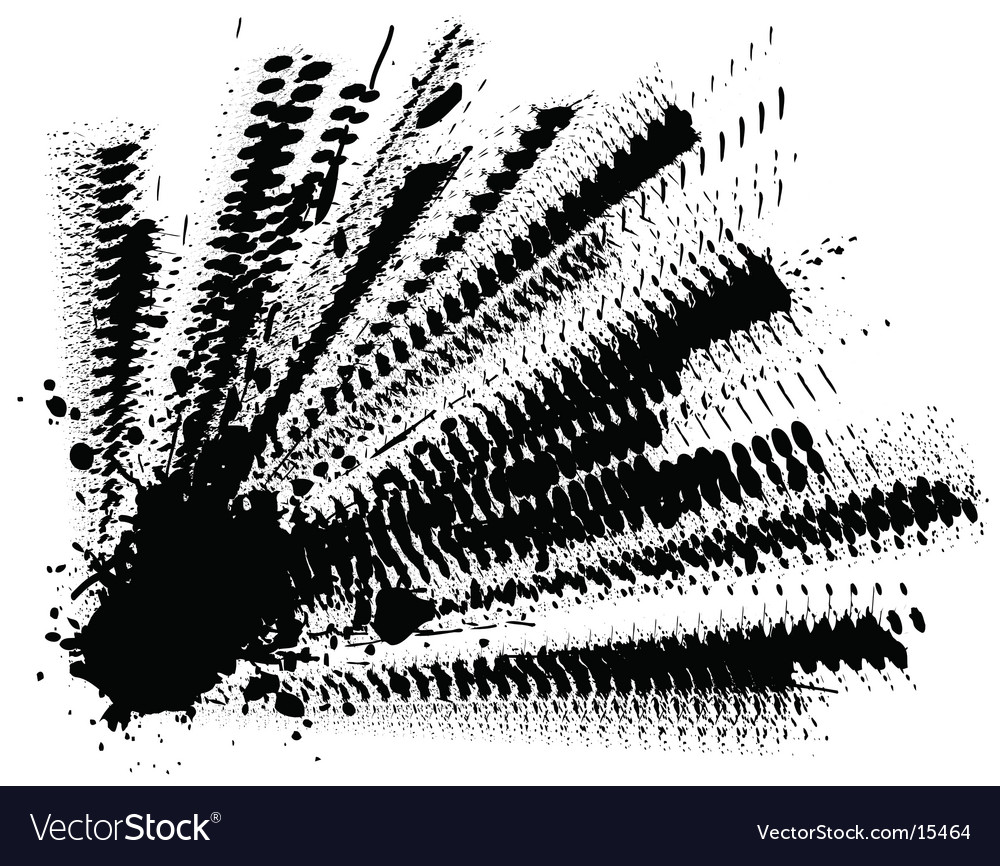 Ink explosion Vector Image