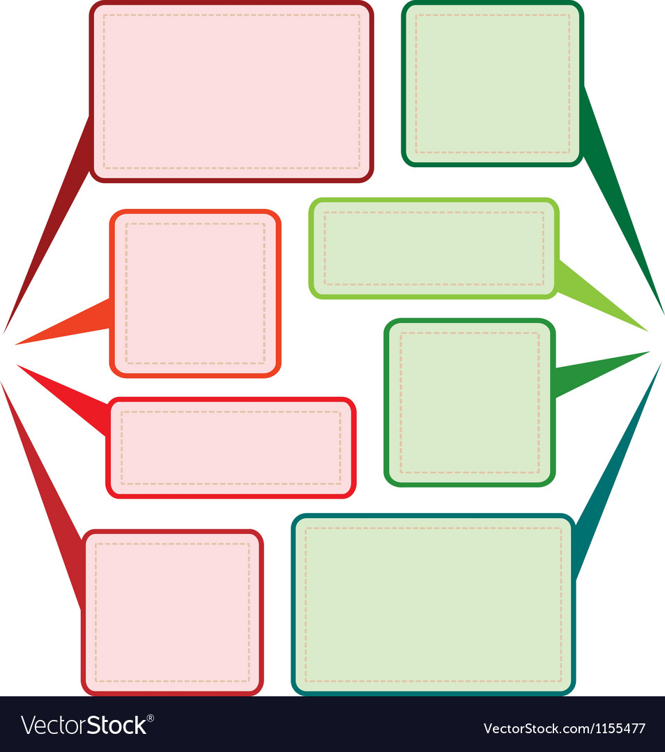 Message background Vector Image