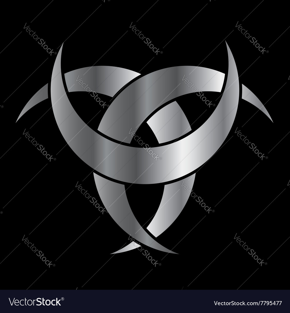 Horned triskele the horn of odin royalty free vector image horned triskele the horn of odin vector image buycottarizona