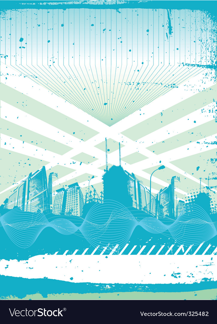 Building background vector image