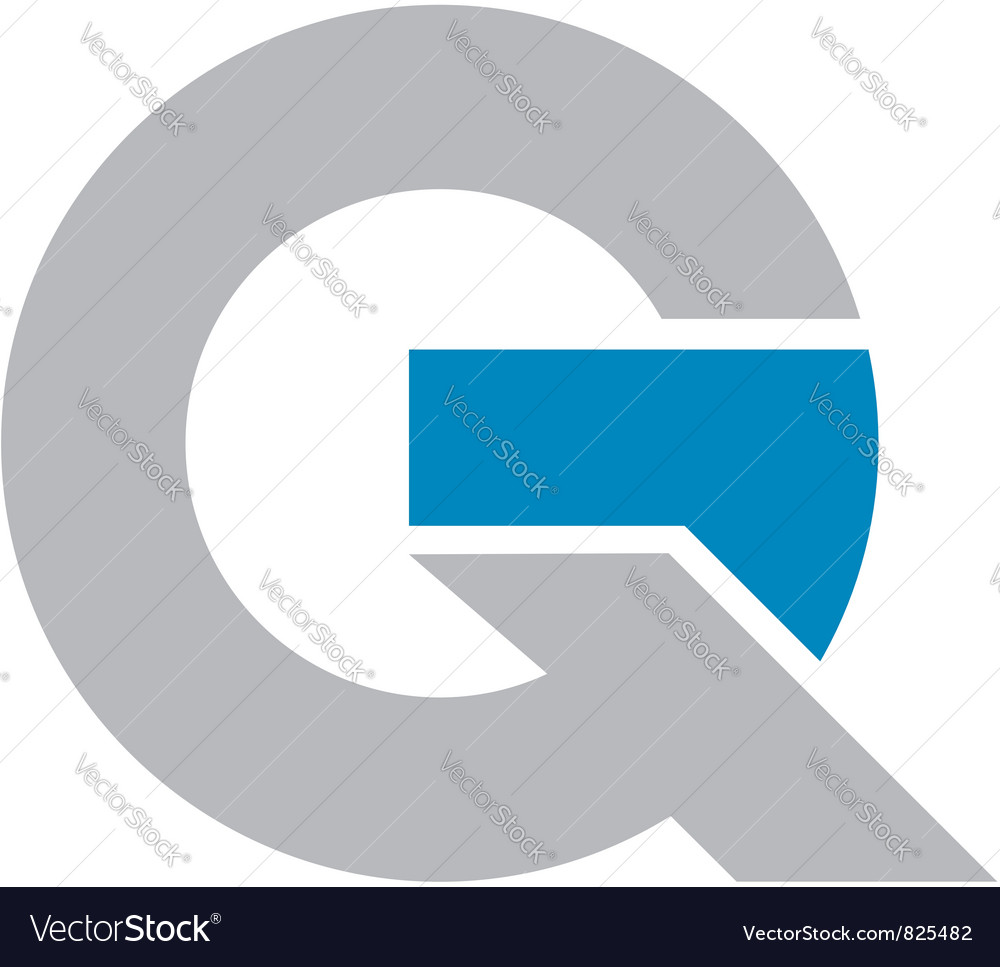 GQ logo vector image