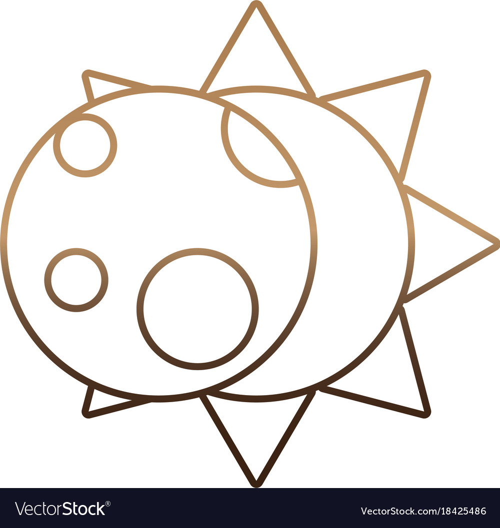 Sun and moon icon royalty free vector image vectorstock sun and moon icon vector image biocorpaavc Images
