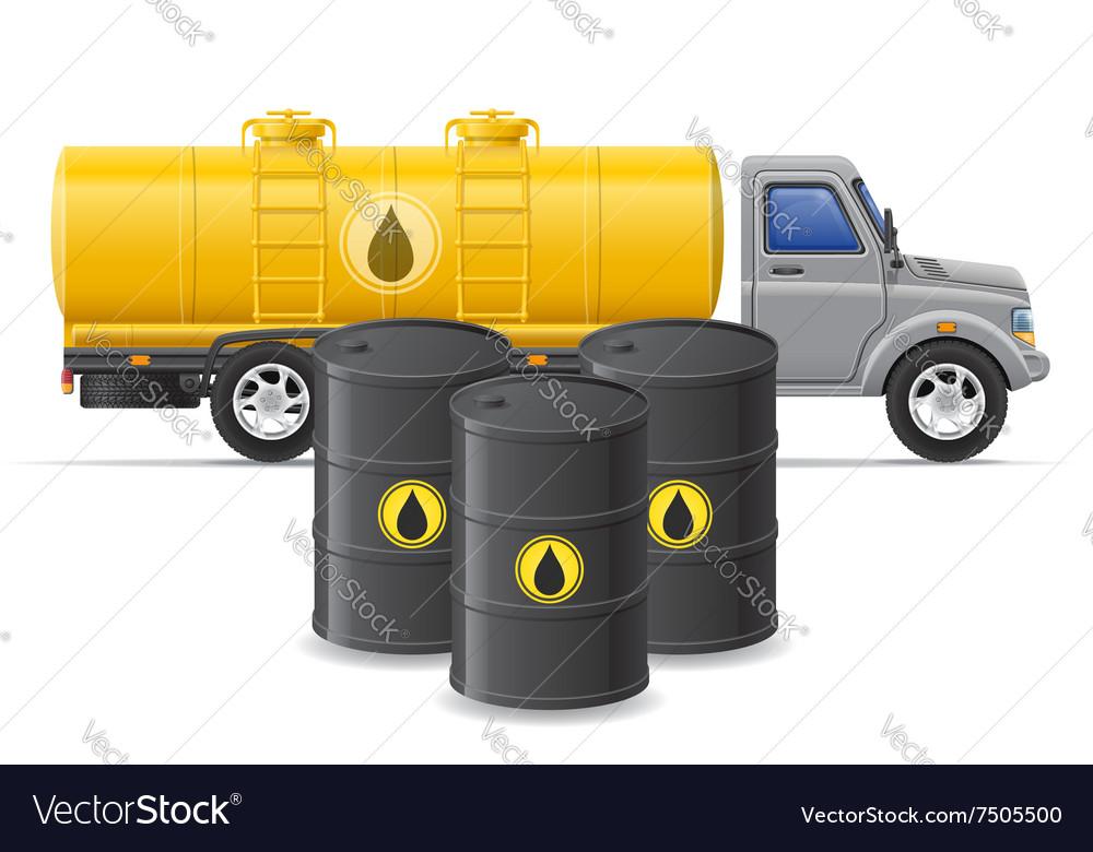 Cargo truck concept 06 vector image