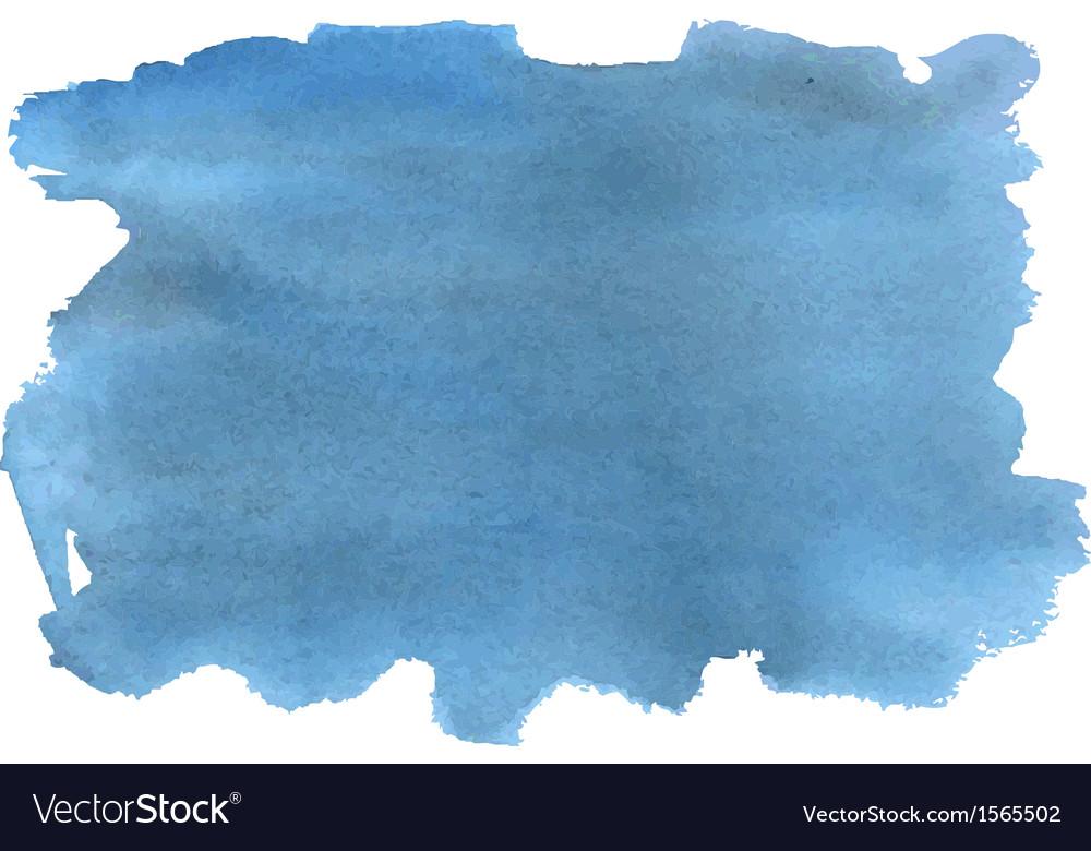 Watercolor sky vector image