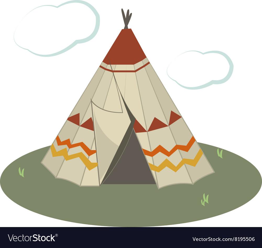 Teepee Tent vector image