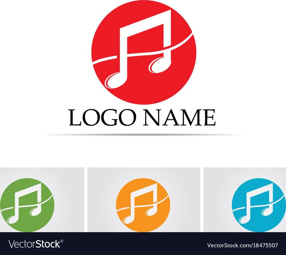 Music note symbols logo and icons template vector image music note symbols logo and icons template vector image buycottarizona