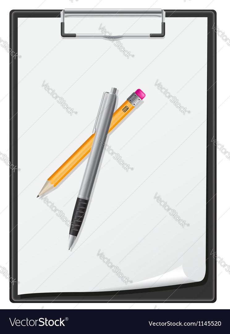 Clipboard 04 vector image