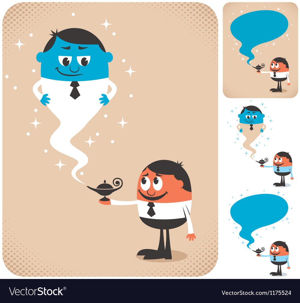 Business Assistant 2 vector image