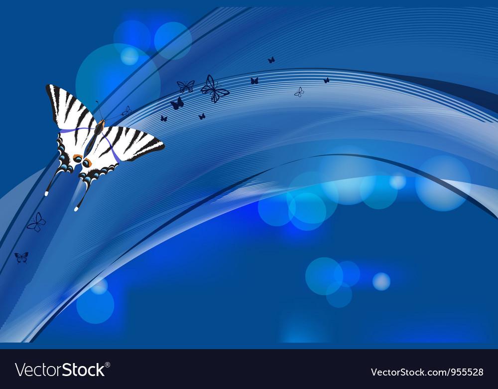 Futuristic decorative elegant design vector image