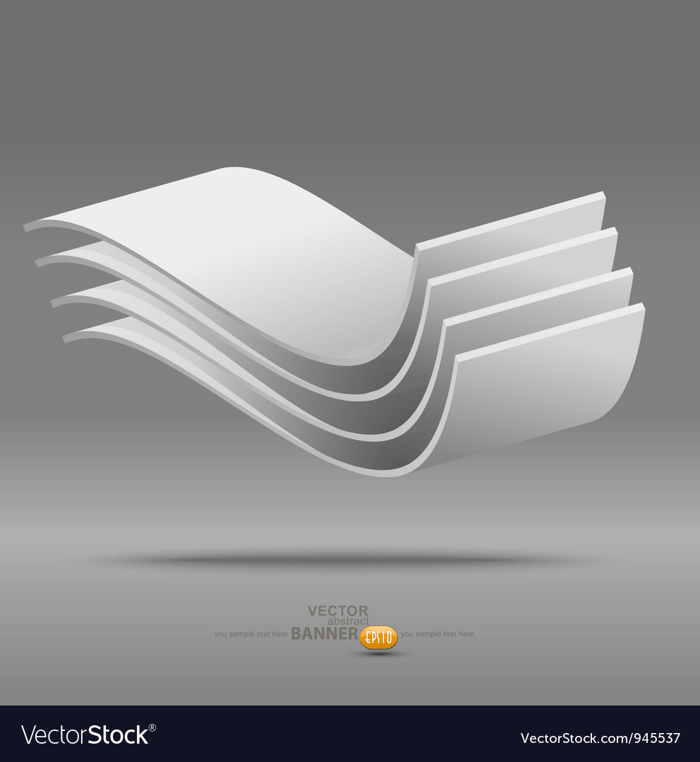 Abstract Poster Background vector image