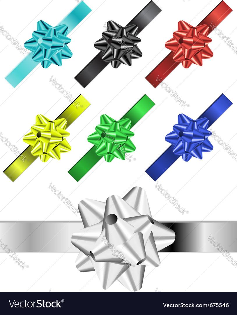 Ribbon vector image