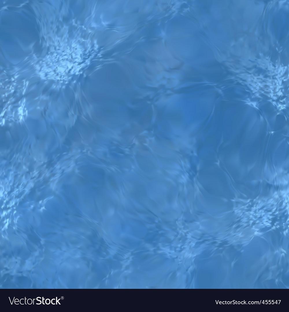 Clear blue water sea floor vector image
